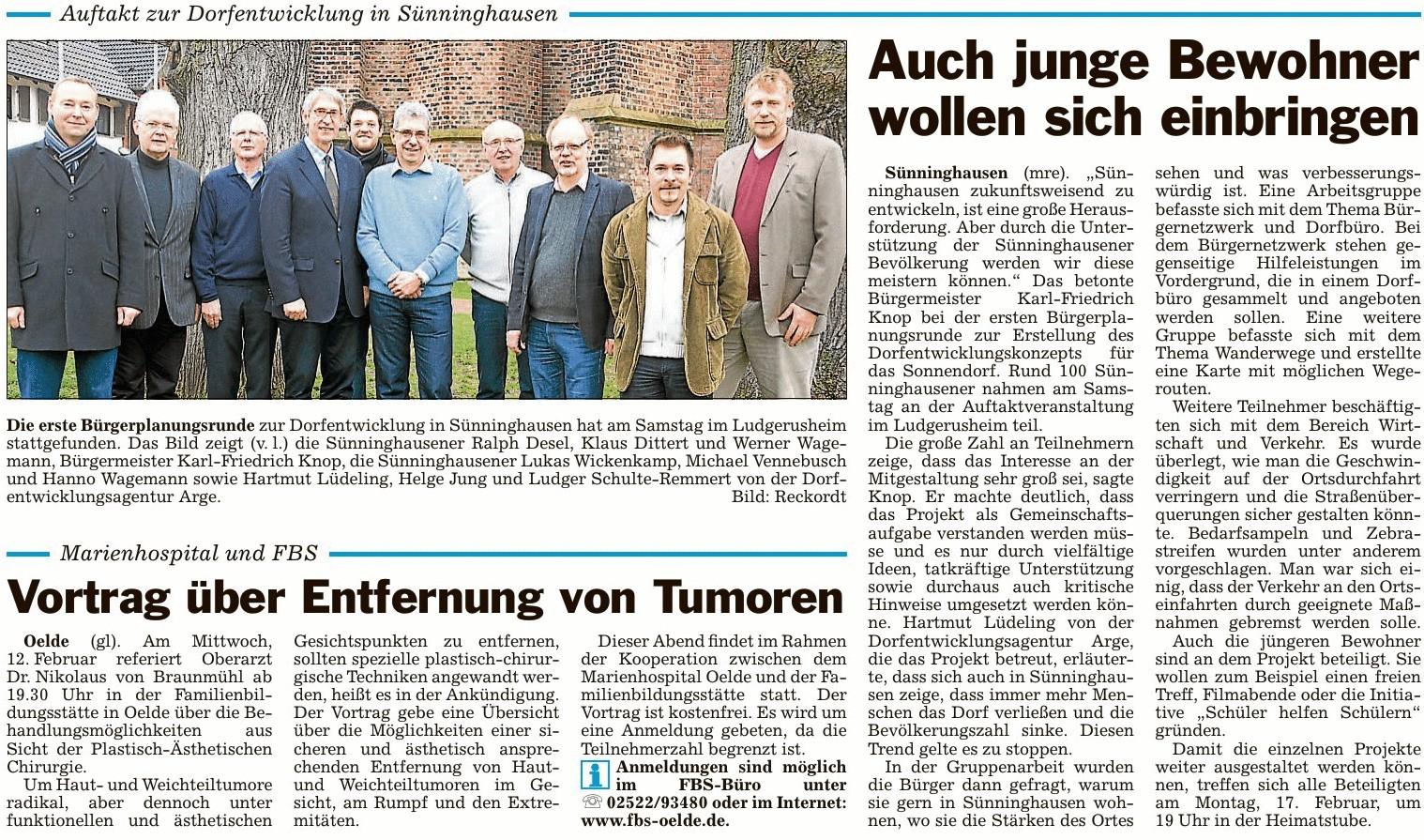 Dorfentwicklungskonzept Sünninghausen